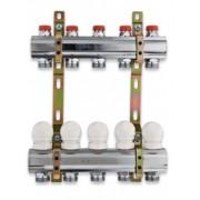 Kolektorius žalvarinis reguliuojamas 2 žalvarinis chromuotas.